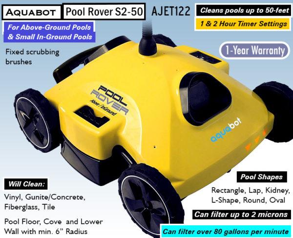 Aquabot Pool Rover s2-50 Reviews