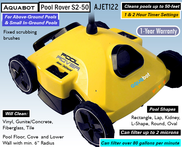 2018 aquabot pool rover reviews above ground pool for Above ground pool buying guide