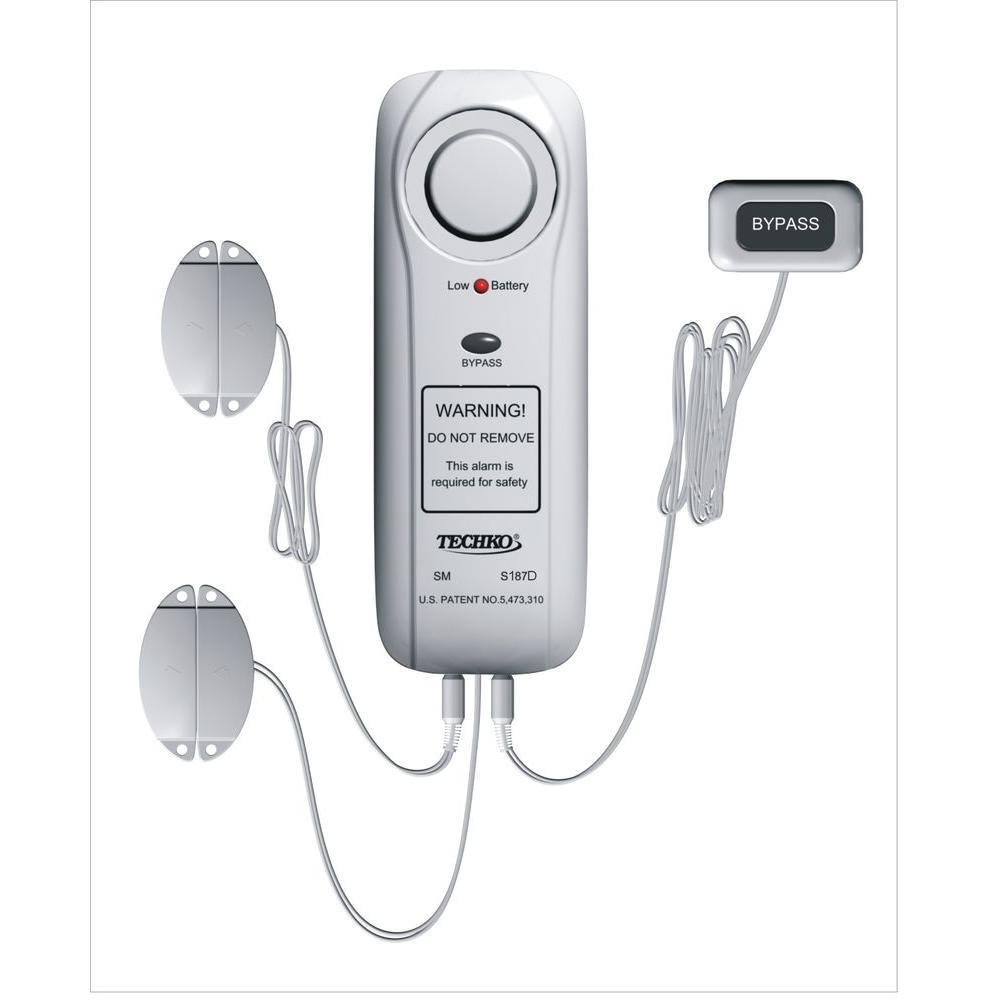 Best Pool Alarm Reviews Techko S187D Safe Pool Alarm