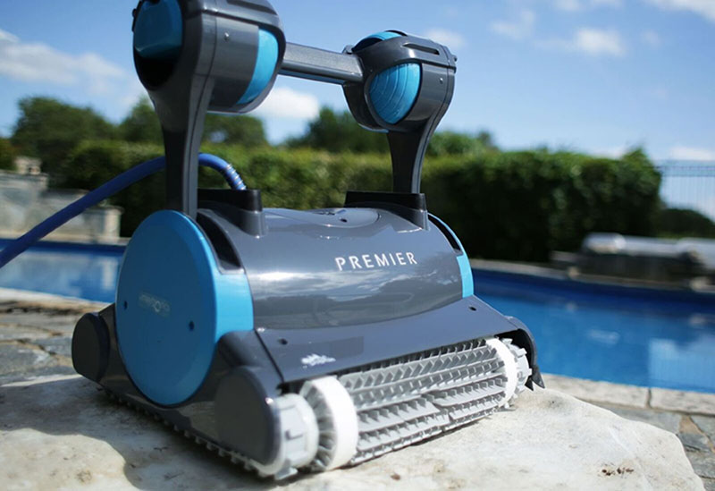 Best Robotic Pool Cleaners Dolphin Premier Pool Cleaner Reviews